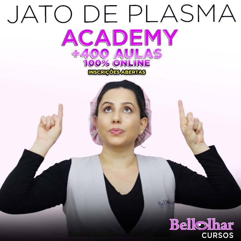 Academia Jato de Plasma: aulas práticas passo a passo em uma plataforma fácil de ser utilizada e com garantia incondicional.